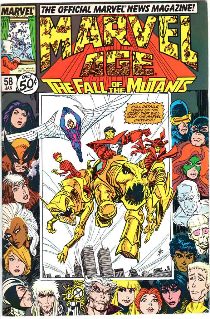 Marvel Age (1983) #58