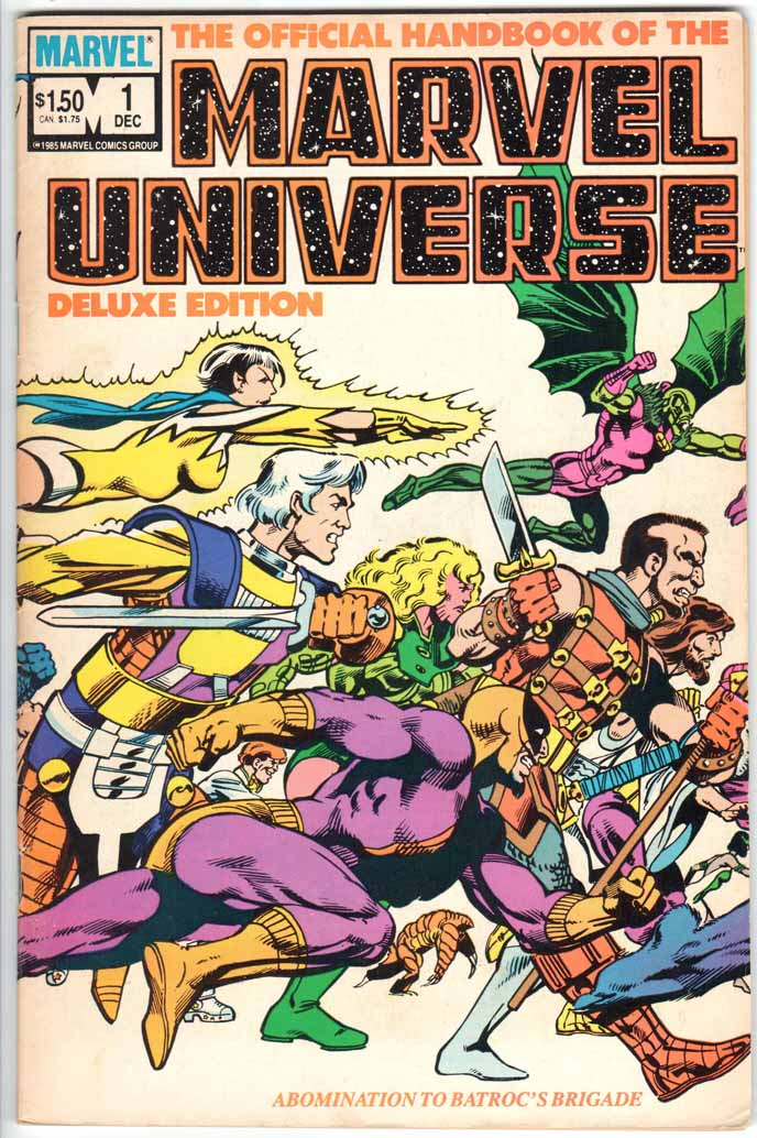 Official Handbook of the Marvel Universe Deluxe Edition (1985) #1