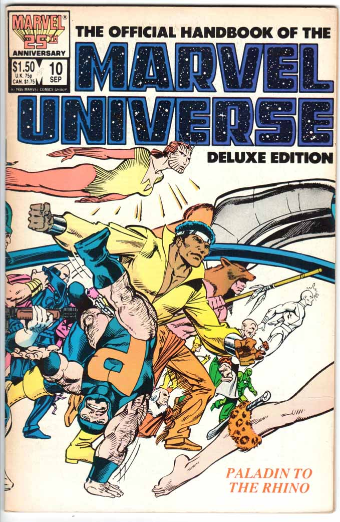 Official Handbook of the Marvel Universe Deluxe Edition (1985) #10