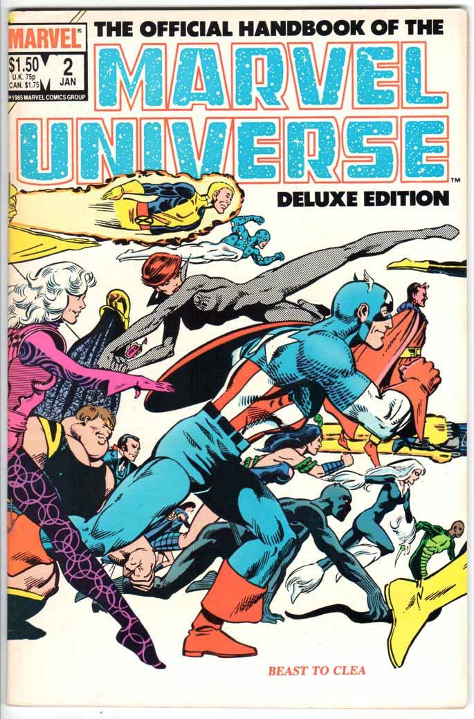 Official Handbook of the Marvel Universe Deluxe Edition (1985) #2