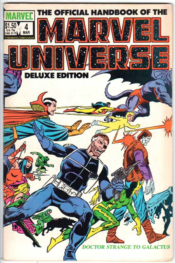 Official Handbook of the Marvel Universe Deluxe Edition (1985) #4