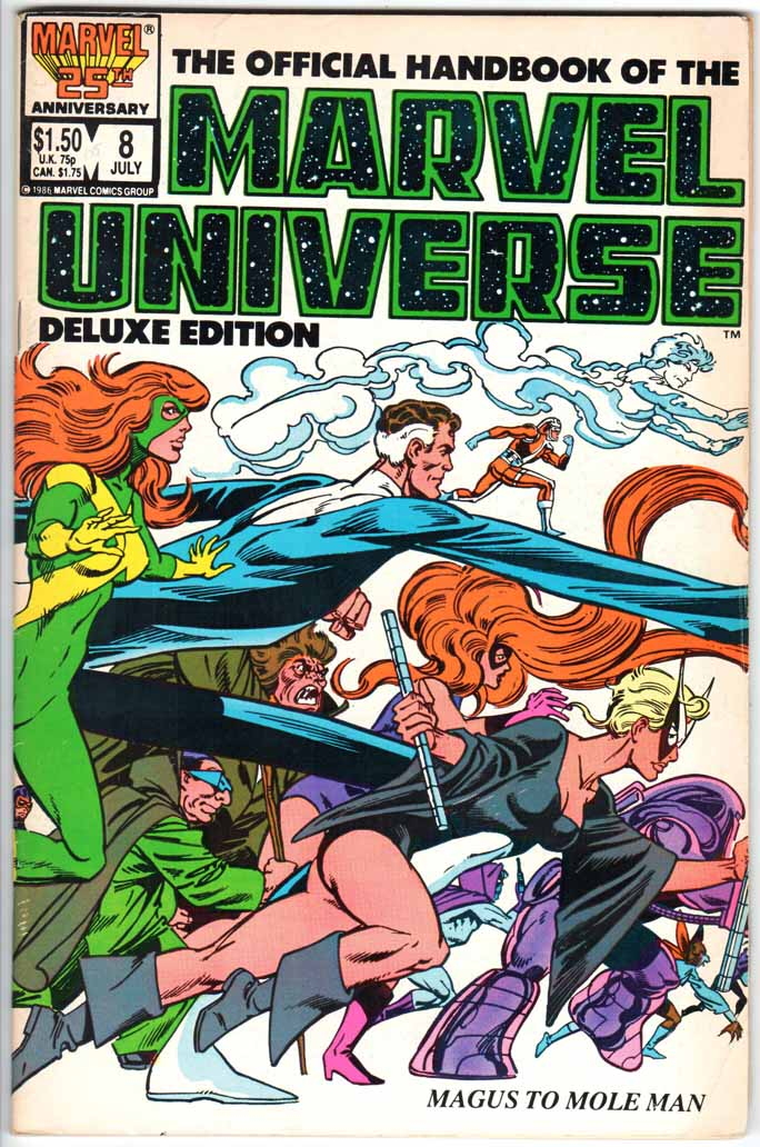 Official Handbook of the Marvel Universe Deluxe Edition (1985) #8