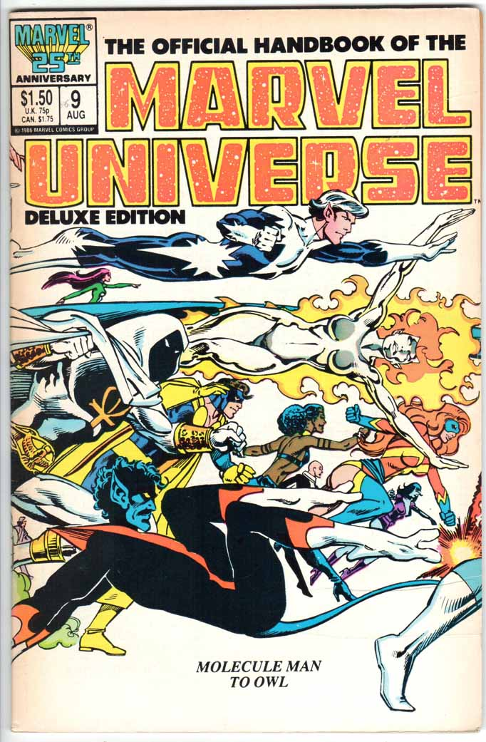 Official Handbook of the Marvel Universe Deluxe Edition (1985) #9