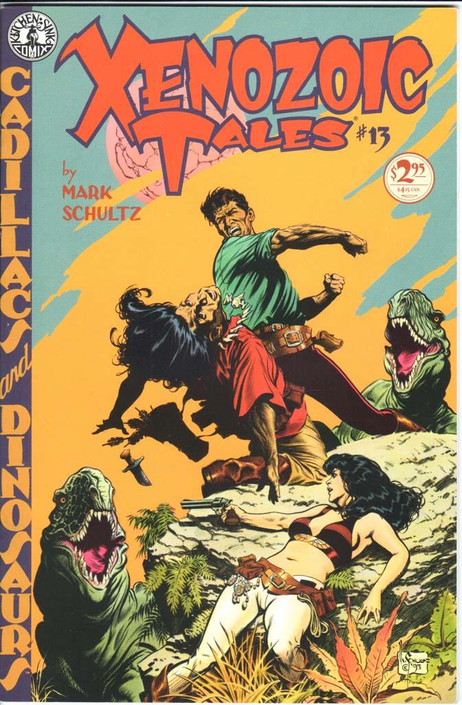 Xenozoic Tales (1987) #13