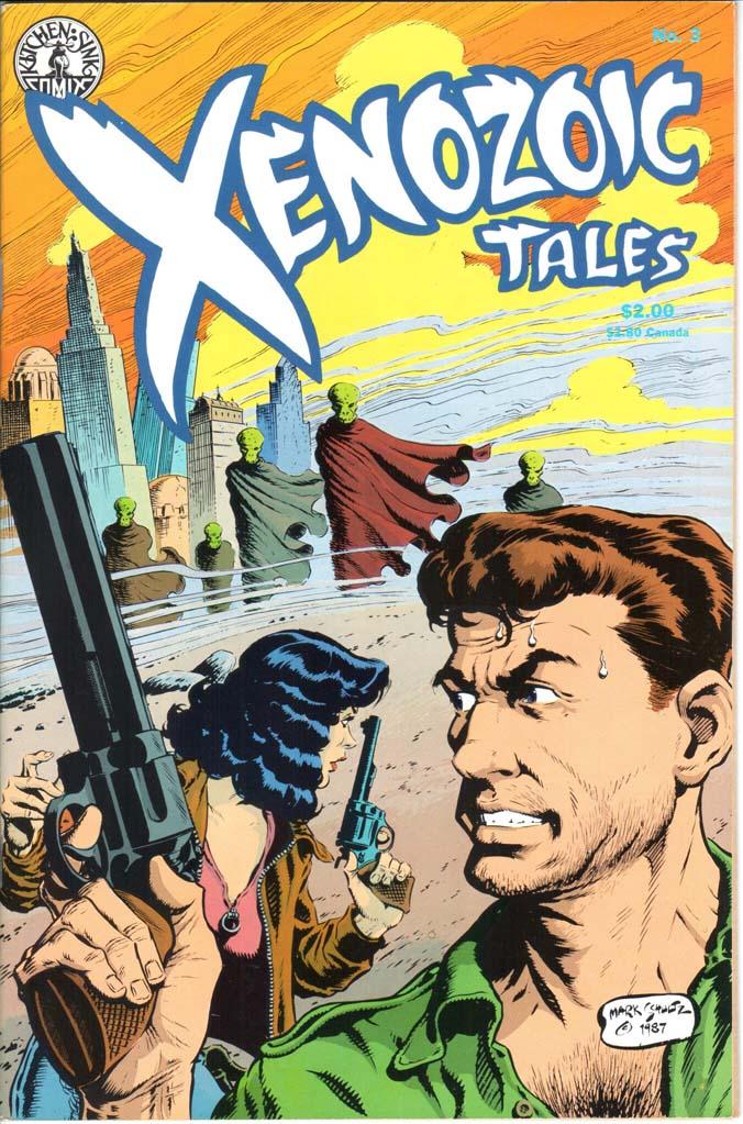 Xenozoic Tales (1987) #3