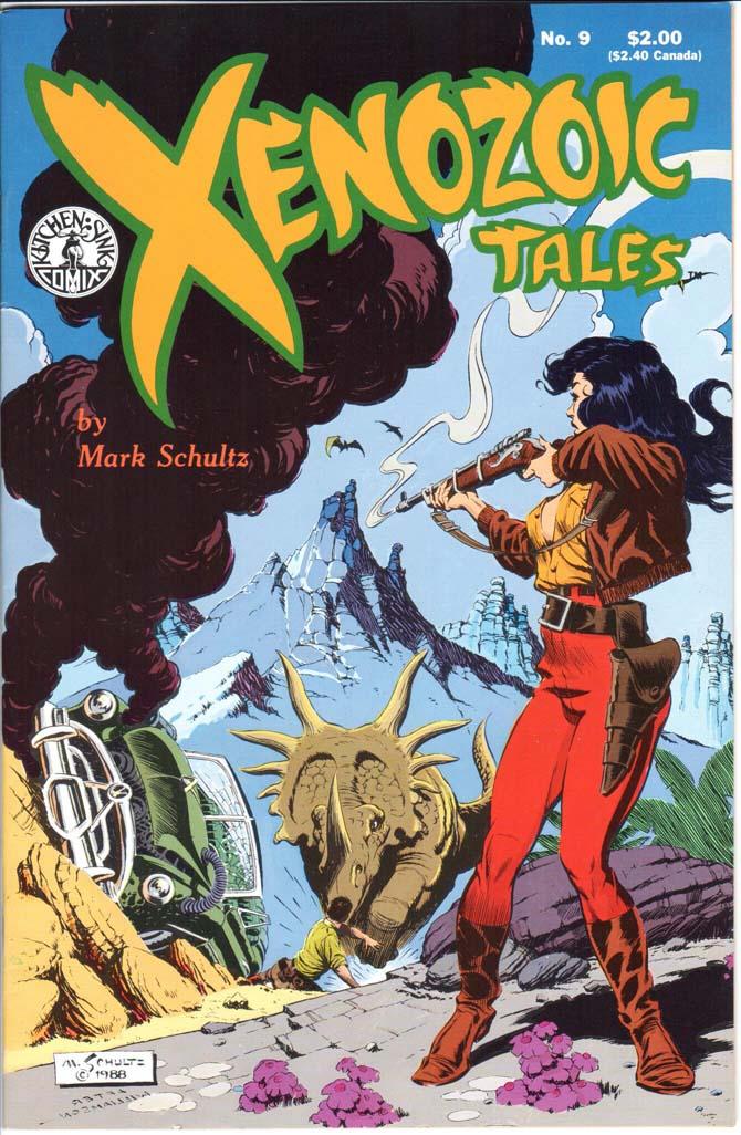 Xenozoic Tales (1987) #9