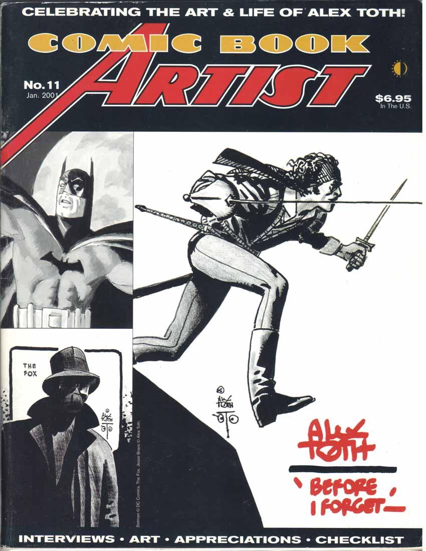 Comic Book Artist (1998) #11