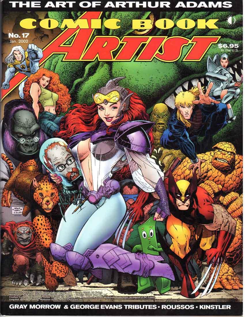 Comic Book Artist (1998) #17