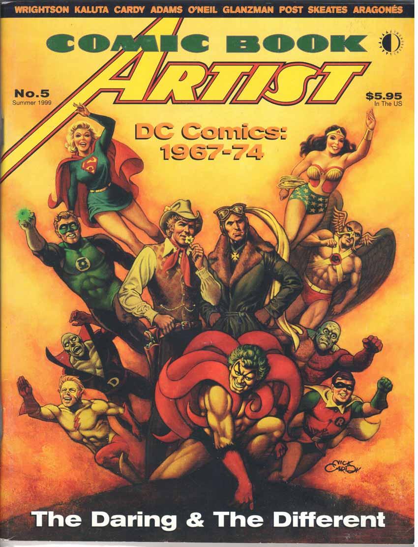 Comic Book Artist (1998) #5