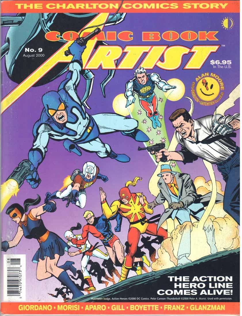 Comic Book Artist (1998) #9