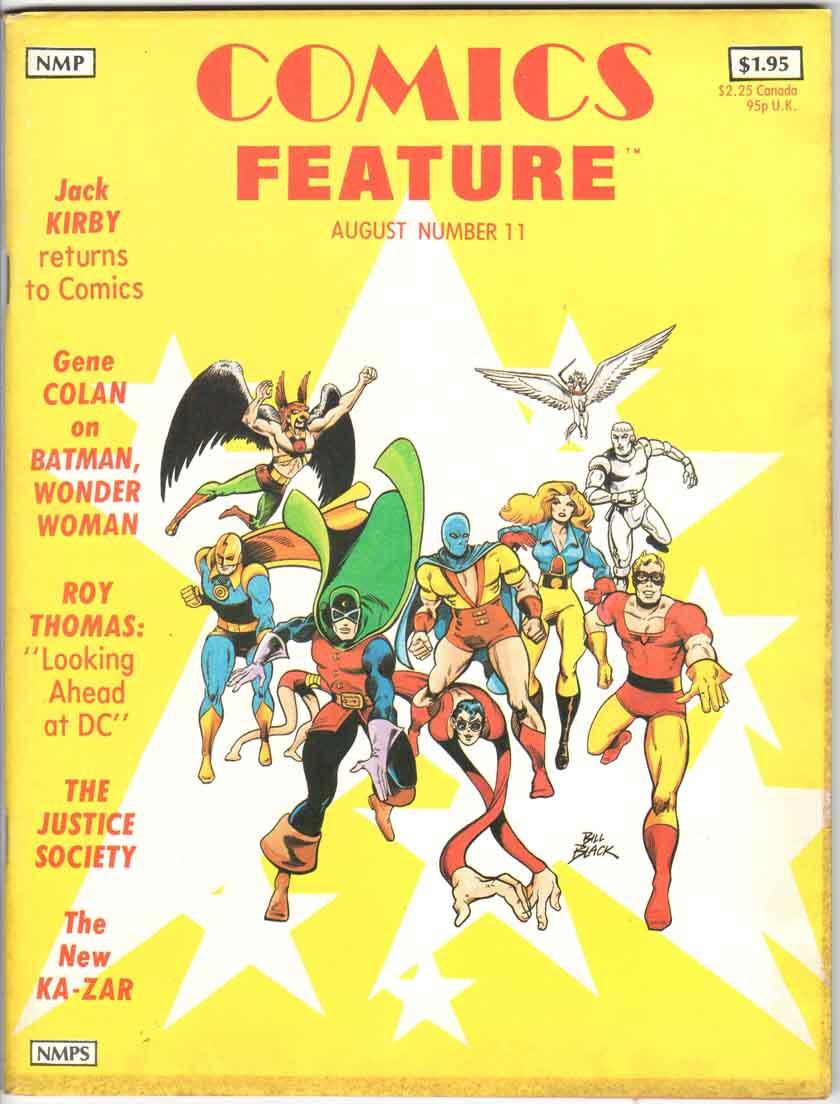 Comics Feature Magazine (1980) #11