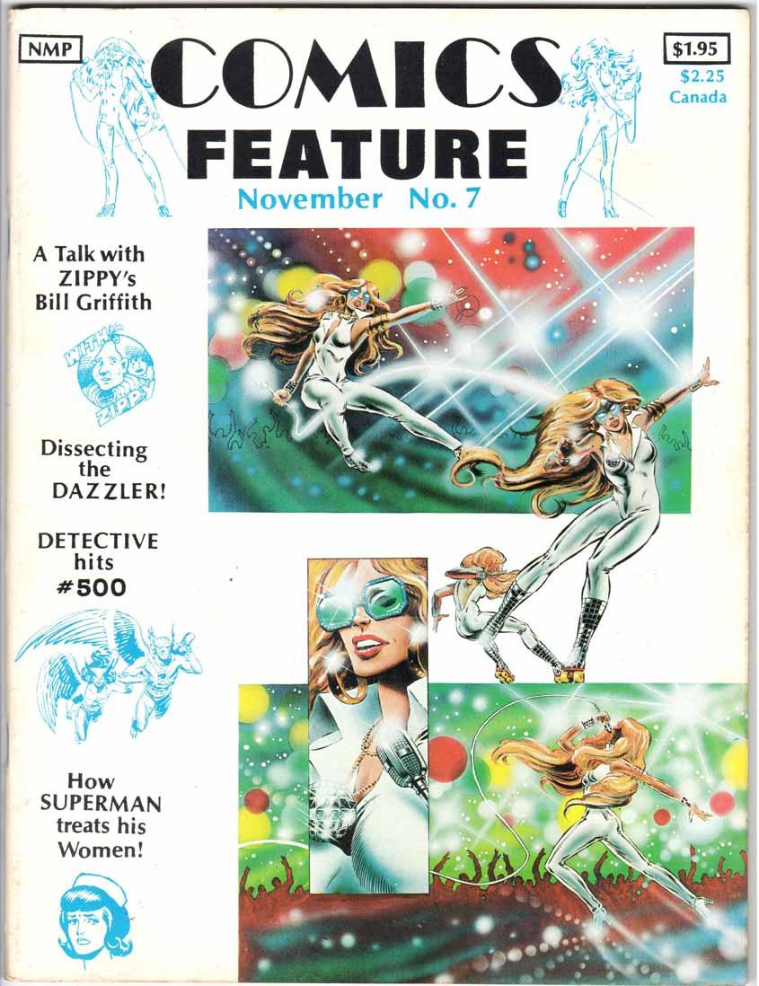 Comics Feature Magazine (1980) #7