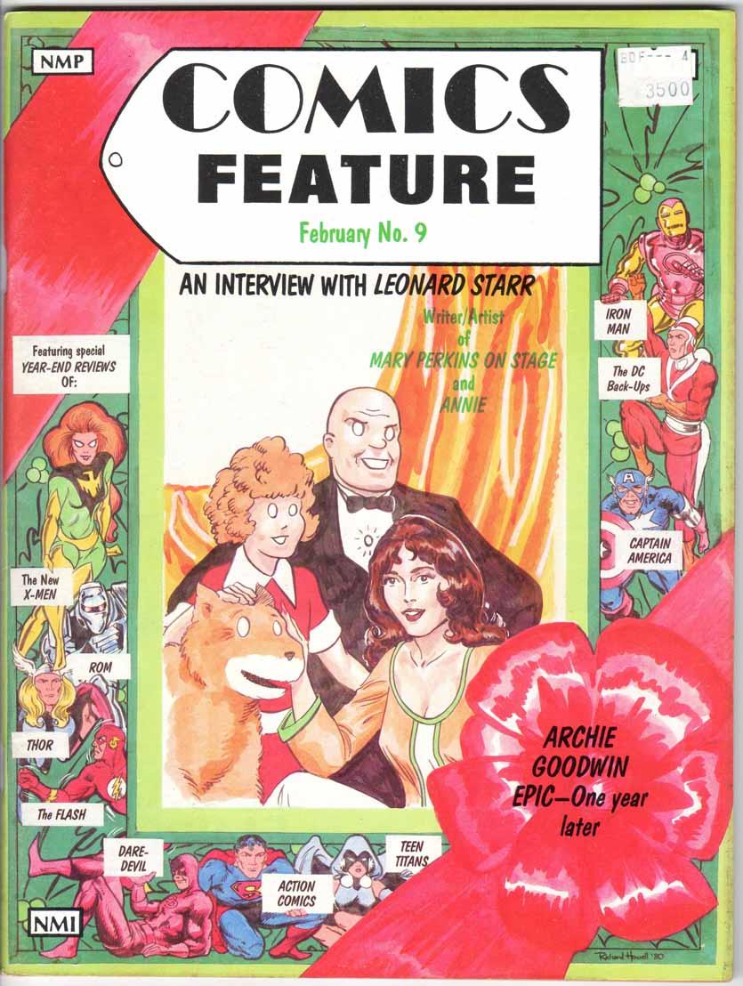 Comics Feature Magazine (1980) #9