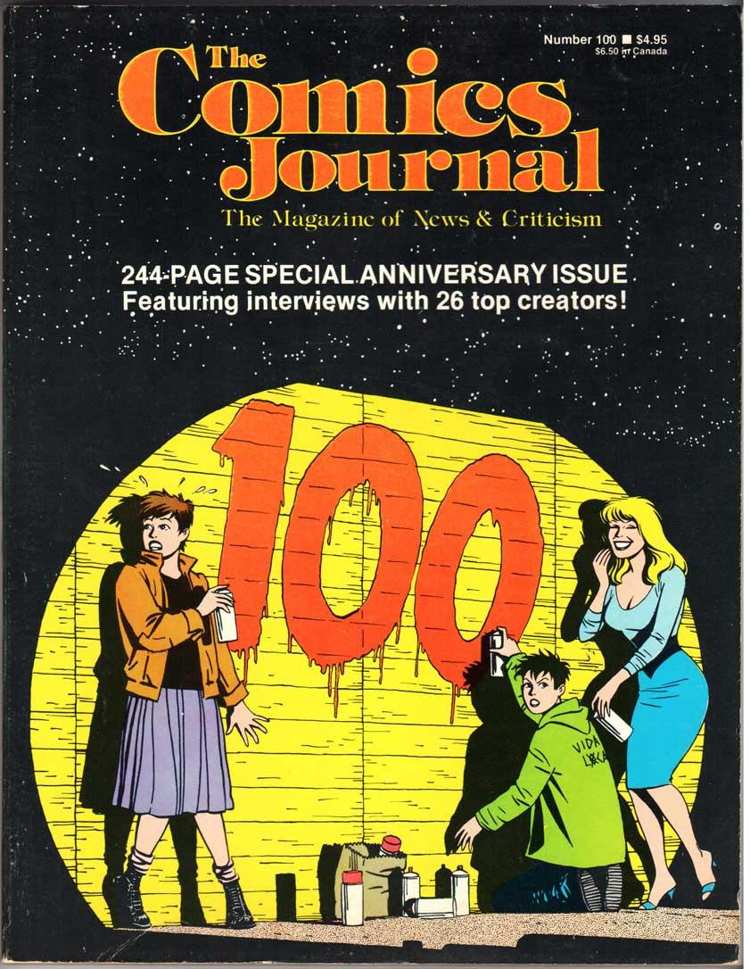 Comics Journal (1977) #100