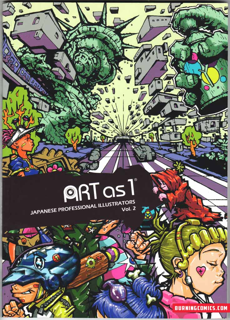 ART as 1: Japanese Professional Illustrators Vol. 2 (2009)