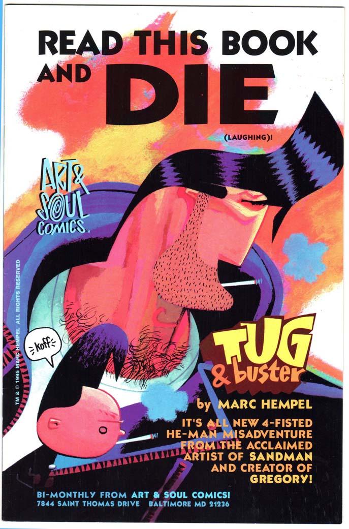 Marc Hempel: Tug & Buster, Naked Brain + more (SET)