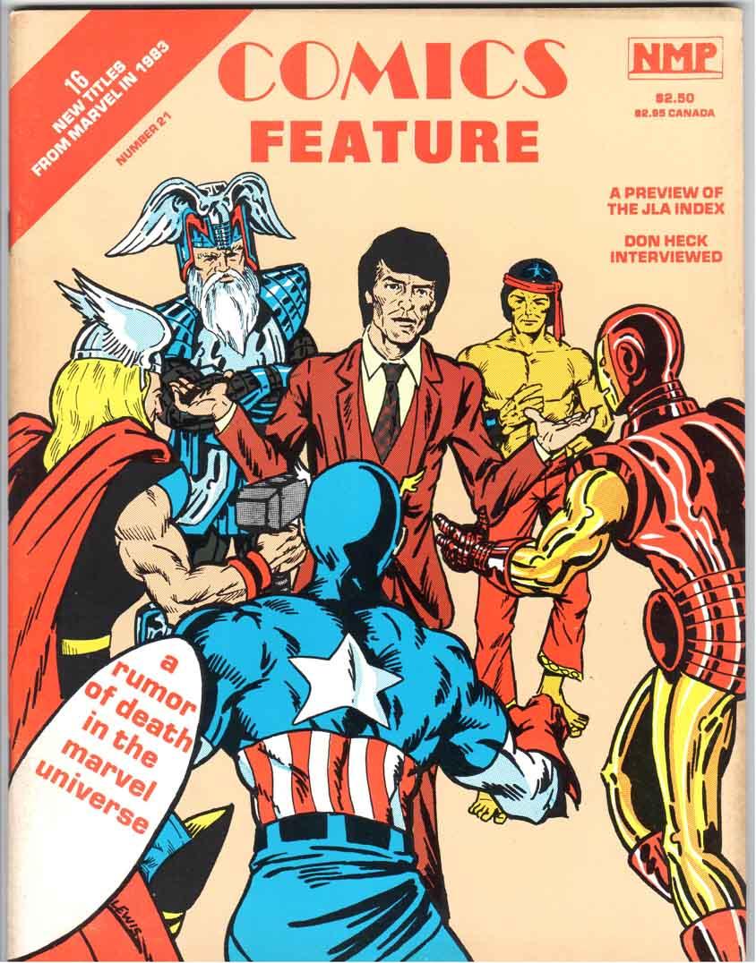 Comics Feature Magazine (1980) #21