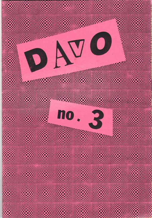Davo Mini Comics (1986) #1 – 3 (SET)