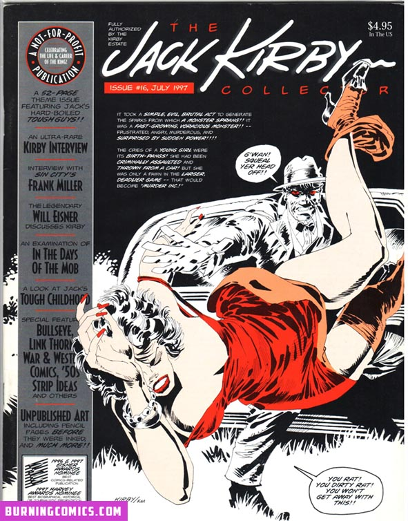 Jack Kirby Collector (1994) #16