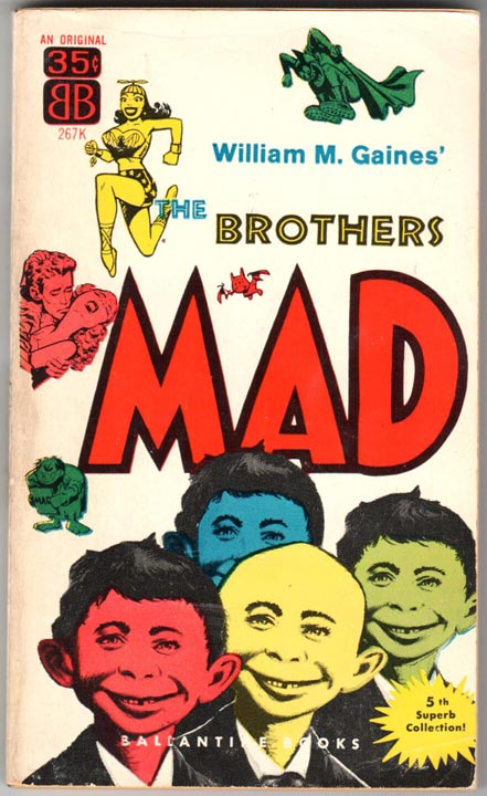 Brothers MAD (1955) PB #1