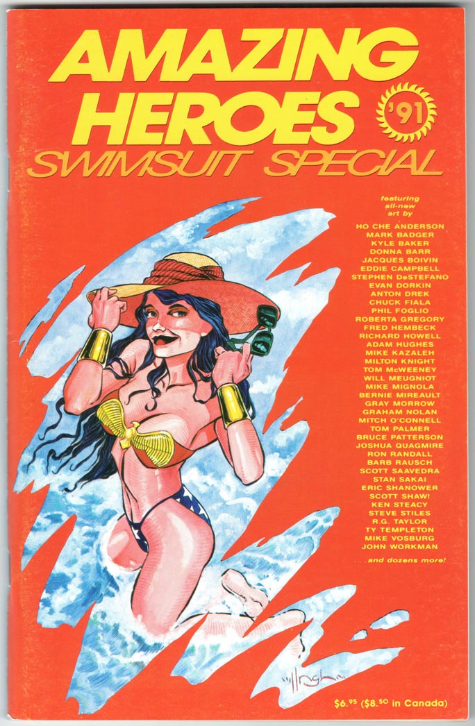 Amazing Heroes Swimsuit Special (1990) #2