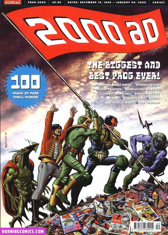 2000 AD: Year End Prog – Annual 2000