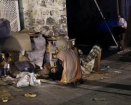 September 2010 – Aden – Beggars in the street.