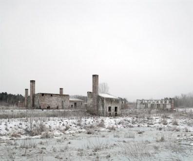 Abandoned Factory Site, near Szekesfehervar, West Hungar