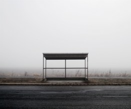 Bus Stop, Nort East Hungary