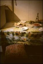 Kitchen of Lazaryan family home in Vank.