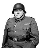 Soldbuch personal identification photograph: Albert, 10th SS Panzer Division Frundsberg.