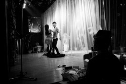 Dancers perform onstage at the now defunct Night Cat gay bar and cabaret in Changsha, China 2006.