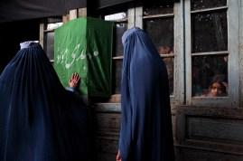 Kabul, hazara quater, December 2010, the commemoration of the Ashura
