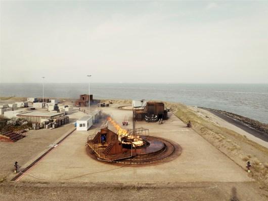Royal Dutch Navy - Nucleair/Biological/Fire/ training center of the Royal Dutch Navy