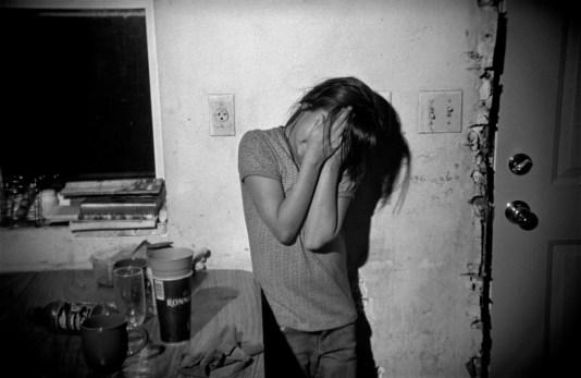 Girl at home, Oglala, Pine Ridge Reservation. (2010)