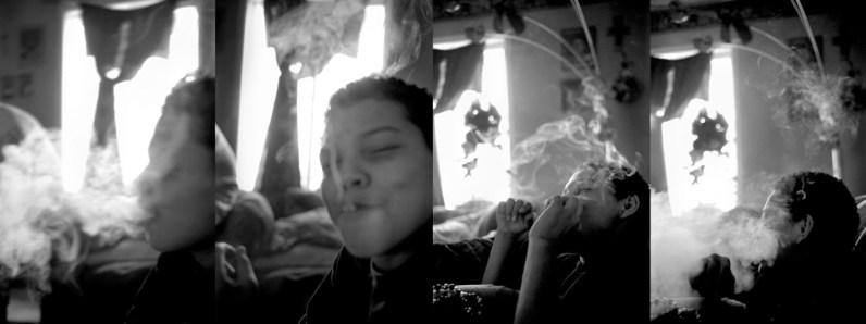 Kids get high, Allen, Pine Ridge Reservation. (2010)
