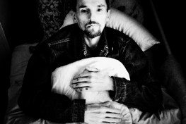 Kolya, 31, who is living with HIV and has tuberculosis, has a poor prognosis for recovery. Tuberculosis clinic, Mariupol.