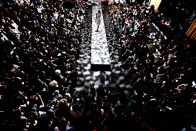 cesar galindo fashion show, new york fashion week- sept 2009.