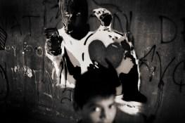 Graffiti Works in the streets of Tegucigalpa, honduran artist Maeztro Urbano.