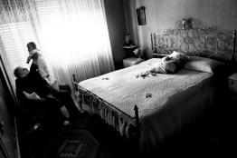 After six years since the disease was diagnosed, Luigi died in May 2011 at home surrounded by his wife and his family.