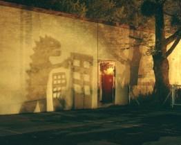 (The shadow of Godzilla)
