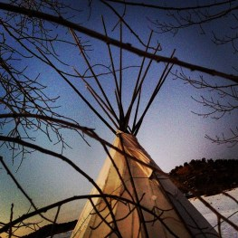 Tipi. Gem Village, Colorado.