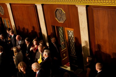 After the swearing-in of congressmen at the beginning of the 112th Congress at the United States Capital in Washington, DC on Wednesday, January 5, 2011.