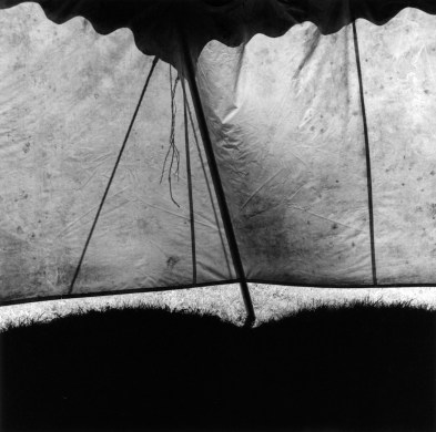 22__Suspended__triptych_right_panel_Shadows_on_tent_Kalamazoo_Michigan_1999