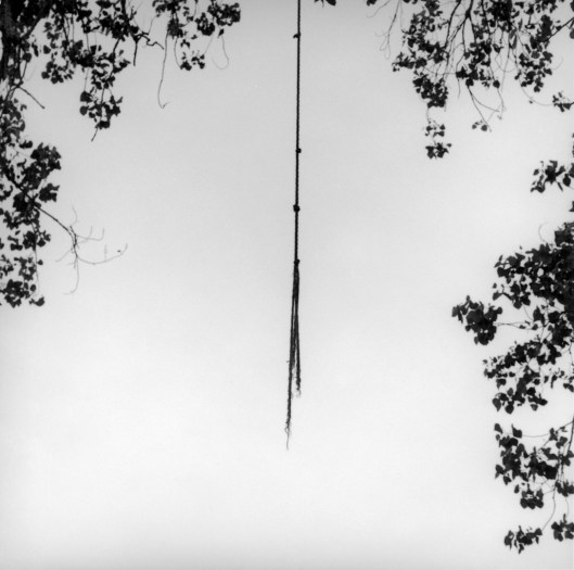 27__Suspended_two__triptych_center_panel_Hanging_rope_Tennessee_1999