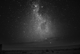 The night sky and the stars that belongs to Saggitarius Arm seen from Atacama desert in Chile, South America.