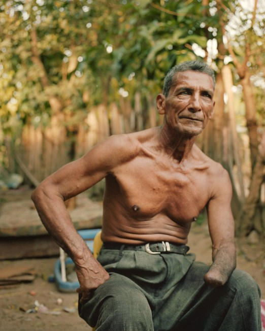 A campesino in Bajo Aguan. (Dominic Bracco II / Prime for Pulitzer Center on Crisis Reporting)