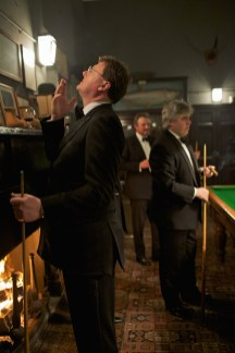 From the new book A Place in the Country. Holkham Estate. North Norfolk. Snooker in the Billiard Room after a formal dinner.