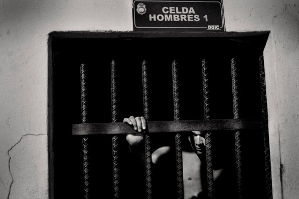 Cells of the first police station. Theft by prisoners and unidentified drug trafficking
