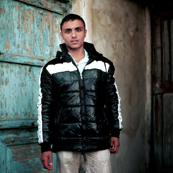 17-year Omar from Syria arrived at Skala beach in Lesvos with clothes dripping wet. .When asked about his dreams and future aspirations he says: ' I came here because I have diabetes and need a doctor.'